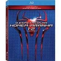 O Espetacular Homem-Aranha 1 + O Espetacular Homem-Aranha 2 Blu-Ray - Multi-Região / Reg.4