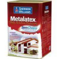 Tinta Látex Metalatex Acrílica Fosco 18l Palha Sherwin Williams