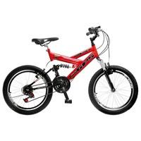 Bicicleta Colli Bike GPS Pro Aro 20 21 Marchas Freio V-brake
