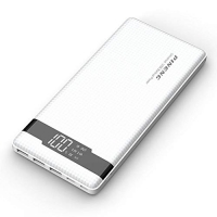 Carregador Portátil Powerbank 20000mah com Display Múltiplas portas Usb Pineng Branco