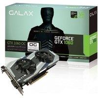 Placa de Vídeo Galax Geforce Entusiasta Nvidia 60NRH7DSL9OC GTX 1060 OC 6GB DDR5 192Bits