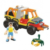 Veículos Imaginext Veículo Oceano Beach Vehicle Fisher-Price