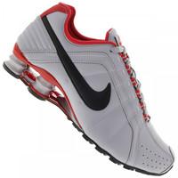 Tenis Nike Shox Junior Masculino Cinza Claro e Preto  c899ec7e59e1c
