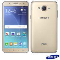 Smartphone Samsung Galaxy J7 Duos SM-J700M 4G 13MP 16GB 5.5 Android 5 Dourado