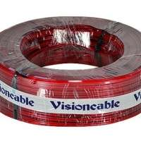 Cabo Cristal 2x14 1.50mm 100 Metros Vermelho Visioncable