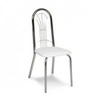 Cadeira de Cozinha Mobly Cromado 0182 Branca