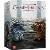Coleção DVD Game Of Thrones: Temporadas 1-7 (35 Discos)