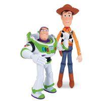 Conjunto de Bonecos Toy Story Woody e Buzz Lightyear Disney Toyng