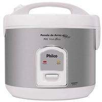 Panela Elétrica de Arroz Philco PH5 Visor Glass Branca 110V