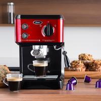 Cafeteira Expresso Oster Cappuccino Vermelho