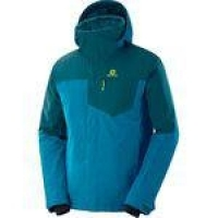 Jaqueta Salomon Strike Insulated Masculino P Azul