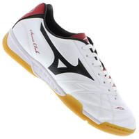 90e79e024b Chuteira de Futsal Mizuno Sonic Club 3 In Branca e Vermelha