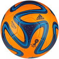 4617afa0b3 Bola de Futebol de Campo Adidas Brazuca WC 14 Glider Laranja e Azul Claro