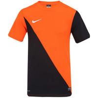 12030fc9f6bd0 Camisa Nike Harlequin Masculina Laranja e Preta
