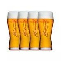 Conjunto Com 4 Copos Budweiser