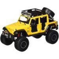 Miniatura Diecast - 2015 Jeep Wrangler Unlimited - 1/24 - Amarelo - Maisto