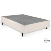 Base De Cama Box Casal 138x188 Suede Bege Smart Box