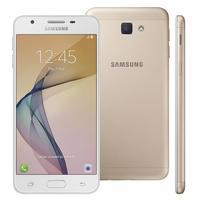 Smartphone Samsung Galaxy J5 Prime Desbloqueado GSM 32GB Dual Chip Dourado