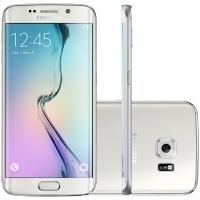 Smartphone Samsung Galaxy S6 Edge SM-G925I Desbloqueado GSM 4G 32GB Android Branco