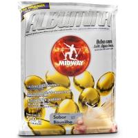 Suplemento Midway Albumina Refil Baunilha 500g