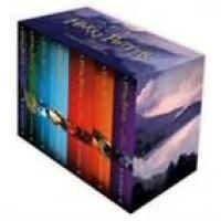 Harry Potter Boxed Set The Complete Collection 1ª Ediçaõ 2014