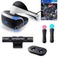 Kit Playstation VR PS4 + Câmera + Controles Movimento + Carregador para Controles PS Move