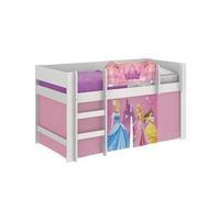 Cama Infantil Princesas Disney Play com Cortina Estampada Pura Magia