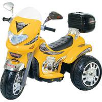 Moto Elétrica Infantil Biemme Sprint Turbo 12V Amarela