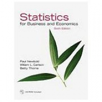 Statistics For Business And Economics And Student CD - Importado