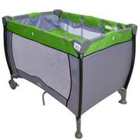 Berço Baby Style Compacto Liso Verde
