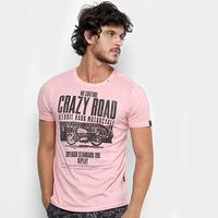 Camiseta Replay Crazy Road Masculina - Masculino