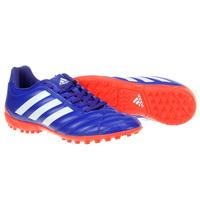 Chuteira Adidas Goletto 5 TF Society Azul e Laranja  dc48cbe7b292f