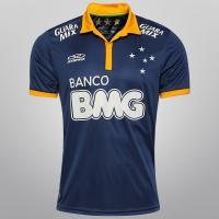 Camisa Olympikus Cruzeiro Goleiro 2014 n° 1 - Fábio Masculina Azul ... c60bf8f143d2a