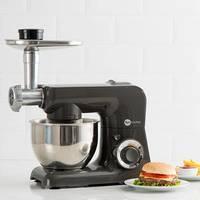 Batedeira Fun Kitchen Power Machine 500W Chumbo + Moedor De Carne Fun Kitchen Preto