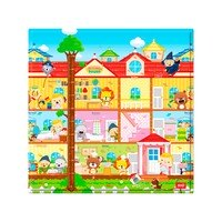 Tapete Infantil Safety 1st Play Mat Dorothy´s House Dupla Face 1 Peça Colorido 125x125cm