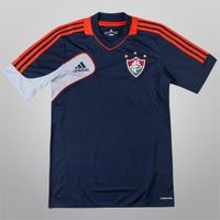 d395b44d47739 Camisa Adidas Fluminense Treino 2012 Masculina Azul