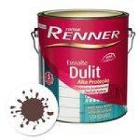 Esmalte Standard Dulit Brilho 3,6 Litros Vermelho Goya Renner