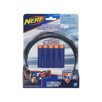 Óculos Hasbro Vision Gear + 5 Dardos Nerf N-Strike Elite