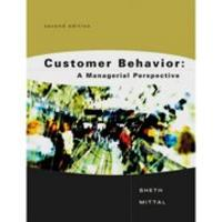 Customer Behavior:A Managerial Perspective