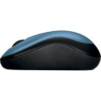 Mouse Sem Fio Logitech M185 Azul