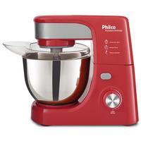 Batedeira Planetária Philco PHP500 Turbo Inox e Vermelho