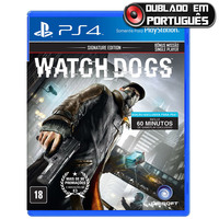 Watch Dogs Playstation 4 Sony