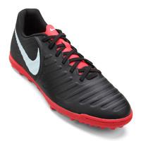 Chuteira Society Nike Tiempo Legend 7 Club Tf Masculina Preto