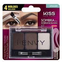 Kit Sombra De Sobrancelha First Kiss I-Envy By Kiss