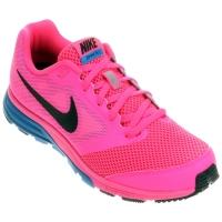 6a45c05788 Tênis Nike Zoom Fly Feminino Azul e Rosa