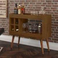 Aparador Sala Bar com Adega Laguna - Malbec - RPM Móveis