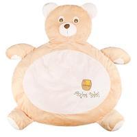 Tapete Fluffy Urso Anjos Baby Doce de Leite