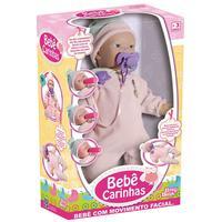 Boneca Interativa Baby Brink Bebê Carinhas Movimento Facial 1817