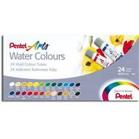 Aquarela Pentel Water Colours WFRS-24  24 Cores