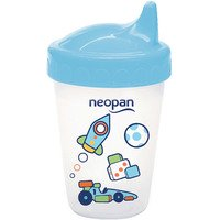 Copo Antivazamento Neopan Decorado 250ml Azul